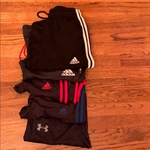 Joggers Mens Bundle Adidas Under Amour - Small
